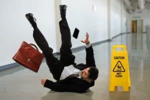 slip and fall wet floor