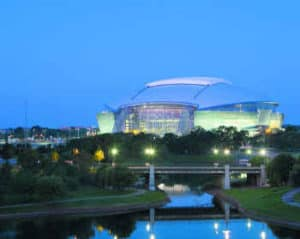 cowboy stadium in arlington tx